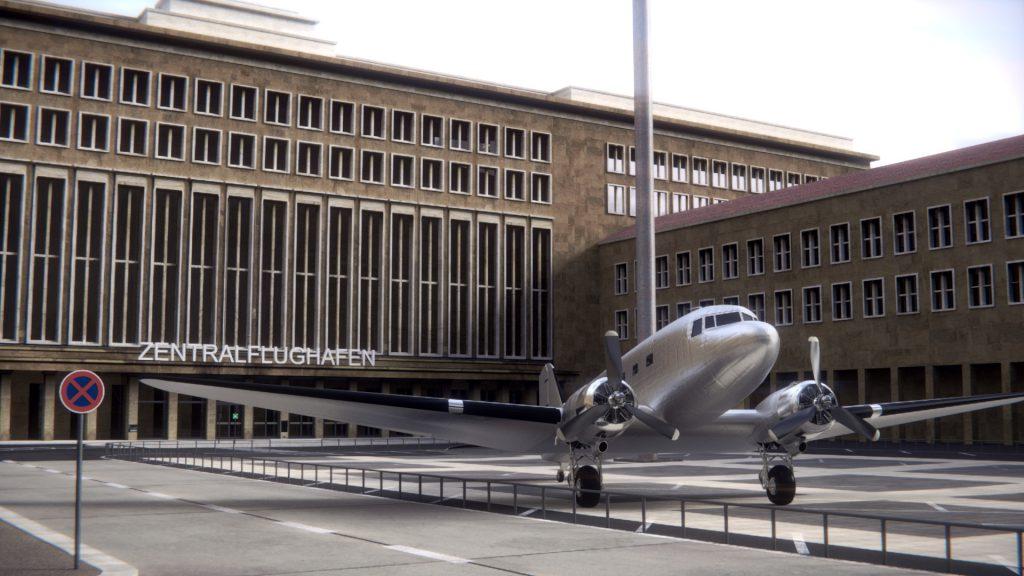 Flughafen Tempelhof Berlin, Eingangsbereich